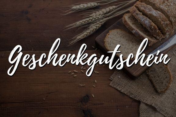 Geschenkgutschein für Brotbackkurse online