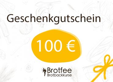 Brotfee Gutschein 100 Euro