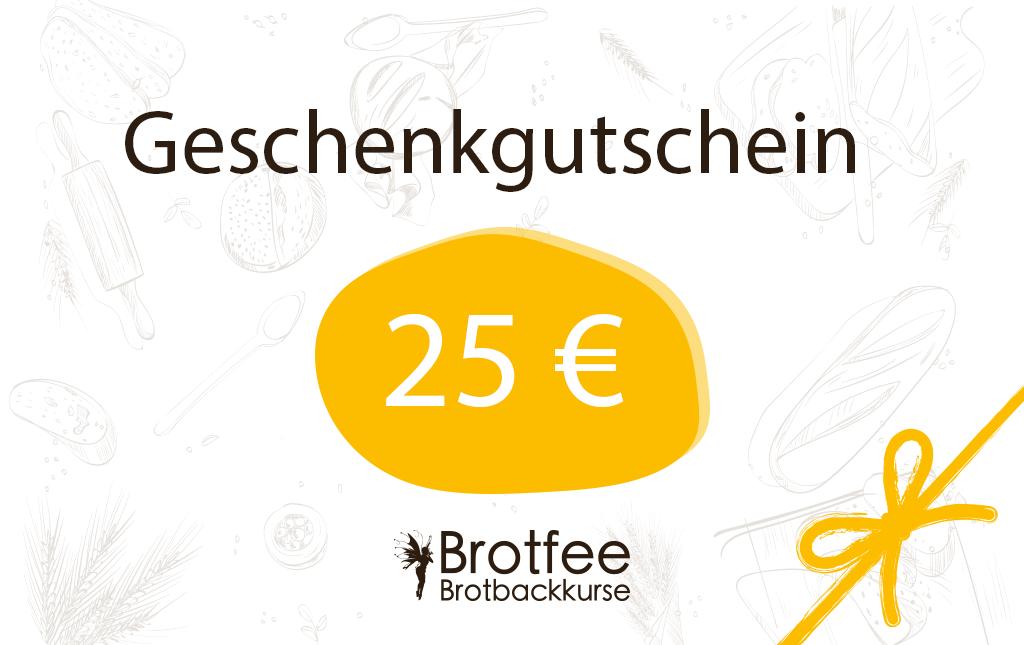 Brotfee Gutschein 25 Euro