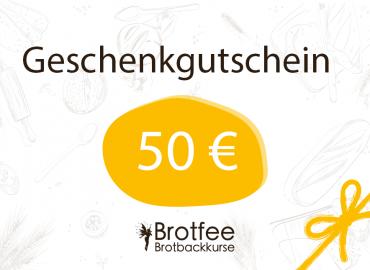 Brotfee Gutschein 50 Euro