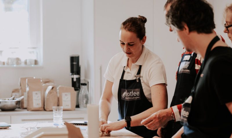 Brotfee Brotbackkurs Teilnehmer