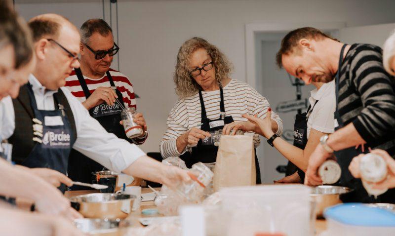 Brotfee Brotbackkurs Teilnehmer in NRW