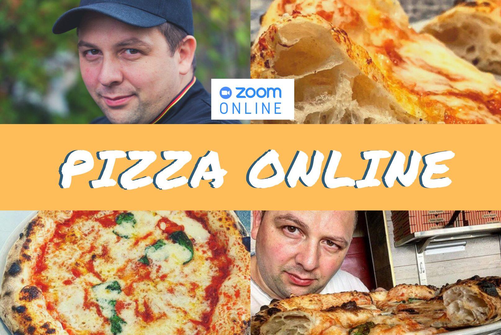 Onlinekurs Pizza mit Salvatore Mandelino