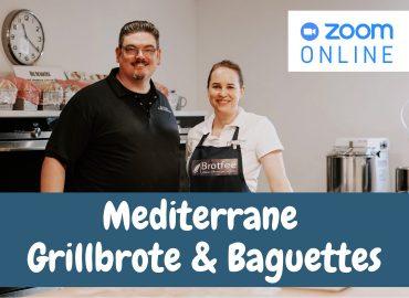 Live-Onlinekurs – Französische Grill-Brote